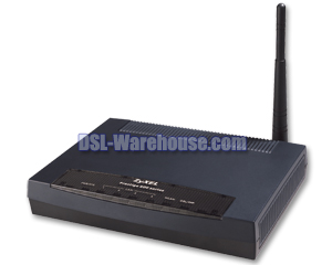 ZyXEL P-660HW 802.11g Wireless ADSL2/2+ 4-Port Gateway